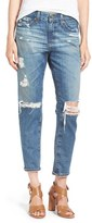 AG Jeans 'The Beau' Skinny Boyfriend Jeans (16 Years Hourglass Sand)