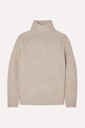 Melange Home Loulou Studio LOULOU STUDIO - Oversized Wool-blend Turtleneck Sweater - Beige