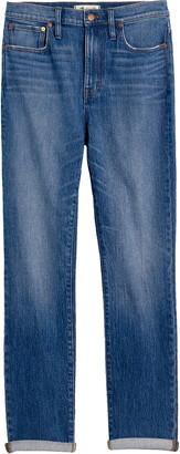 Madewell High Waist Slim Boy Jeans