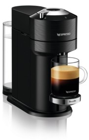Nespresso Vertuo Next Premium Coffee and Espresso Maker by Breville, Classic Black