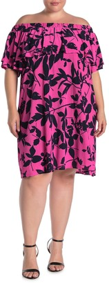 Rachel Roy Libby Mini Dress (Plus Size)