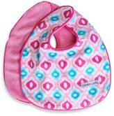 Caden Lane Ikat Mod 2-Pack Bib Set in Pink