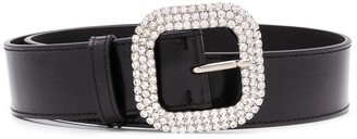 Kate Cate Crystal Buckle Belt