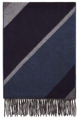 Bloomingdale's The Men's Store at Diagonal Striped Scarf - 100% Exclusive