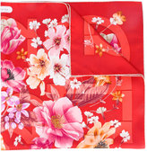 Salvatore Ferragamo floral scarf - women - Silk - One Size