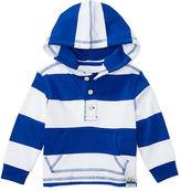 Ralph Lauren Boy Striped Cotton Jersey Hoodie