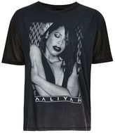 And finally Aaliyah mesh t-shirt