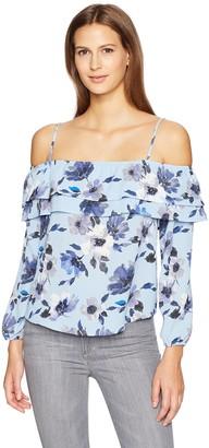 Blu Pepper Women's Floral Juliet Top