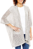 Asstd National Brand Marled Scarf Topper