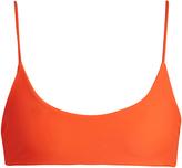 Mikoh Hermosa scoop-neck bikini top