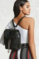 Forever 21 Quilted Chain Backpack
