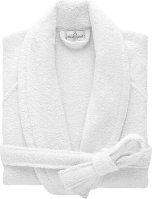 Yves Delorme Etoile Blanc Bathrobe (Medium)