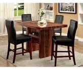 Hokku Designs Carroll 5 Piece Counter Height Dining Set