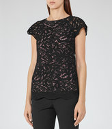 Reiss Sol Lace Top