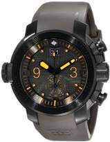 "Zodiac ZMX Men's ZO8544 ""Special Ops"" Stainless Steel Watch with Matte Grey Rubber Strap"