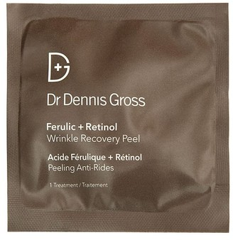 Dr. Dennis Gross Skincare Ferulic + Retinol Wrinkle Recovery Peel - 16 Applications