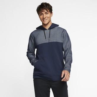 Nike Men's Long-Sleeve Pullover Hoodie Hurley Dri-FIT Santa Cruz