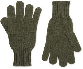 Rubinacci - Cashmere Gloves - Men - Green