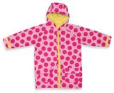 I Play Child Midweight Raincoat in Pink Dot