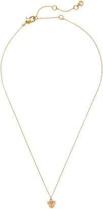 Kate Spade Precious Pansy Pave Mini Pendant Necklace