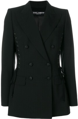 Dolce & Gabbana Laced Seam Jacket