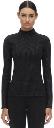 Thierry Mugler Embossed Lycra Sports Top