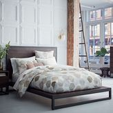west elm Logan Platform Bed - Smoked Brown