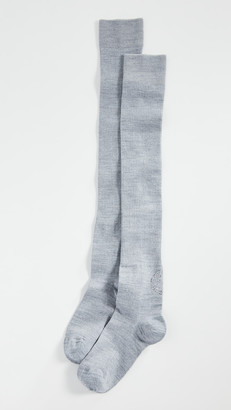 Ganni Merino Wool Thigh High Socks
