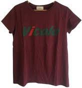 Vicolo Burgundy Top for Women