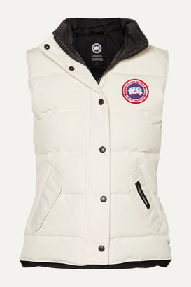 Canada Goose Freestyle Quilted Shell Down Vest - Ivory