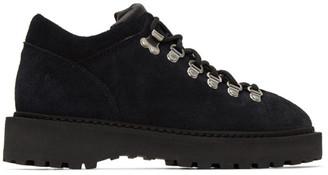 Diemme Black Suede Monfumo Low Sneakers