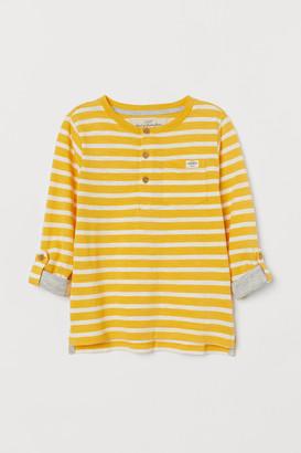 H&M Cotton Henley Shirt