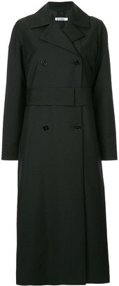 Jil Sander Long Double-Breasted Coat