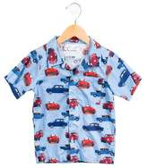 Rachel Riley Boys' Cadillac Button-Up Shirt