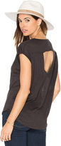 Chaser V-Neck Open Back Muscle Tee