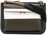Marni front pocket shoulder bag - women - Calf Leather - One Size