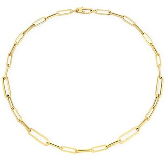 """Roberto Coin Designer 18K Yellow Gold Oval-Link Necklace/17"""""""