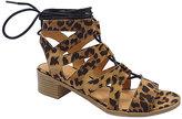 Wild Diva Leopard April Gladiator Sandal