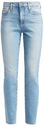 AG Jeans Mari High-Rise Slim Straight Jeans