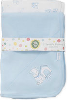 Little Me 2-Pk. Puppy Cotton Swaddle Blankets, Baby Boys (0-24 months)
