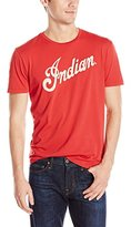 Lucky Brand Men's Indian Logo Alone Graphic Tee