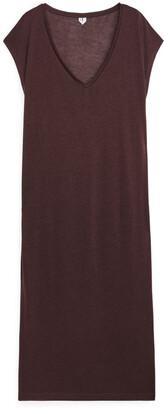 Arket Semi-Sheer T-Shirt Dress