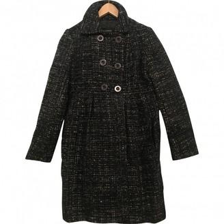 Tara Jarmon Navy Wool Coat for Women