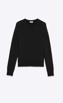 Saint Laurent Cashmere Sweater Black L
