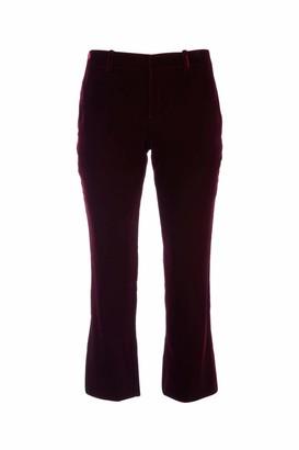 Saint Laurent Velvet Cropped Pants