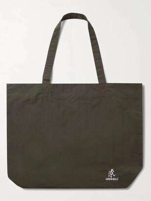 Gramicci Logo-Embroidered Printed Nylon Tote Bag - Men - Green