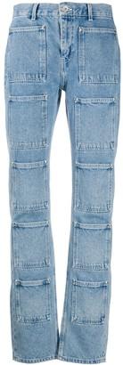 Lourdes Pocket Detail Jeans