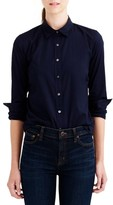 J.Crew Women's Stretch Perfect Shirt