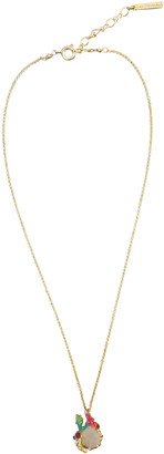 Les Nereides Pink Gold plated Necklaces