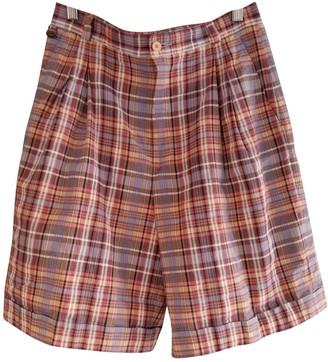 Lacoste Multicolour Cotton Shorts for Women